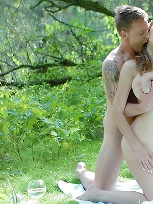 Naughty teen Busty Buffy loves it outdoors